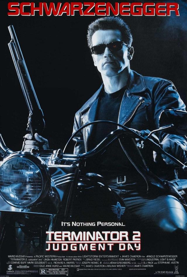 Póster de Terminator 2: Judgment Day (1991). Imagen: impawards.com
