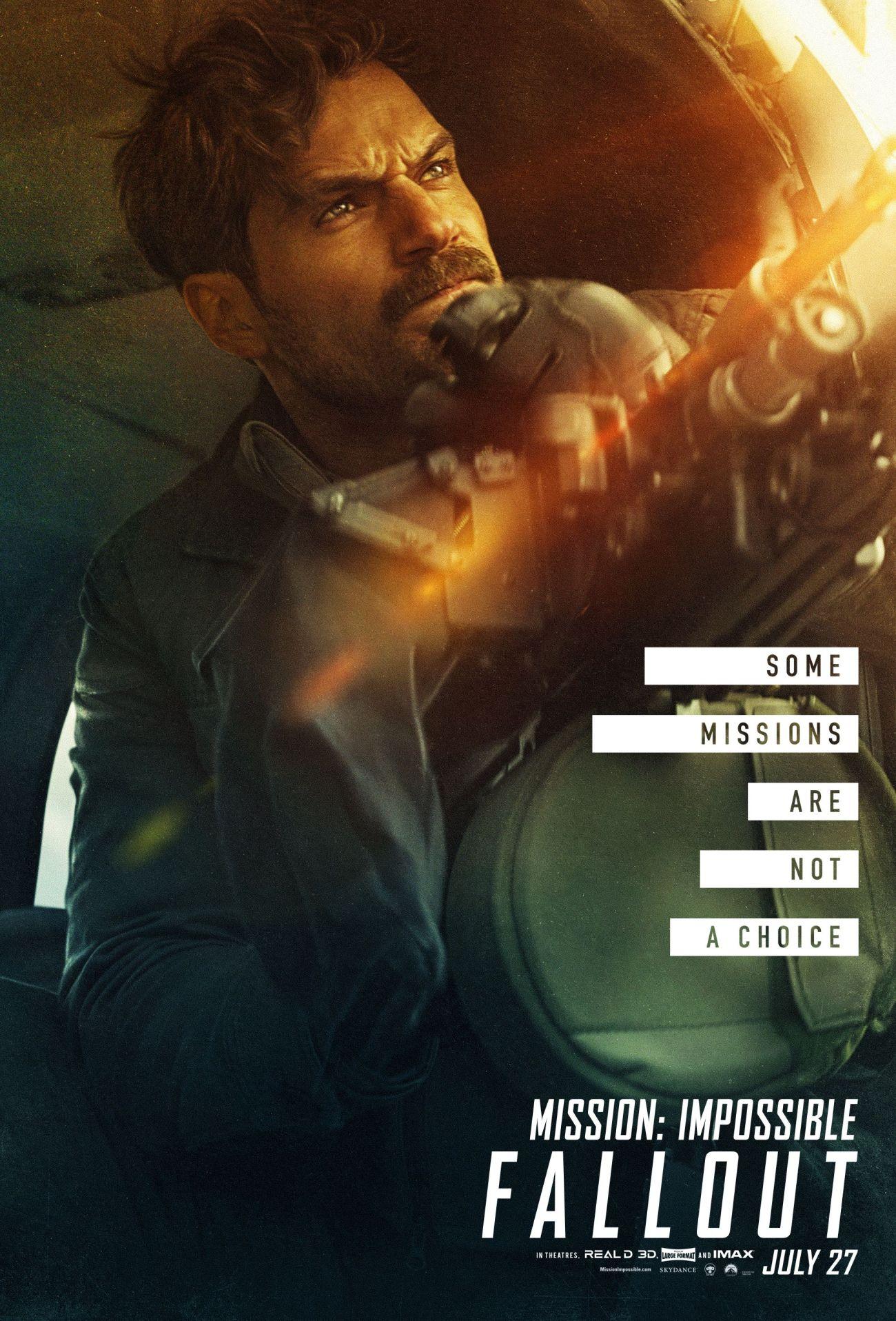 August Walker (Henry Cavill) en Mission: Impossible – Fallout (2018). Imagen: pinterest.com