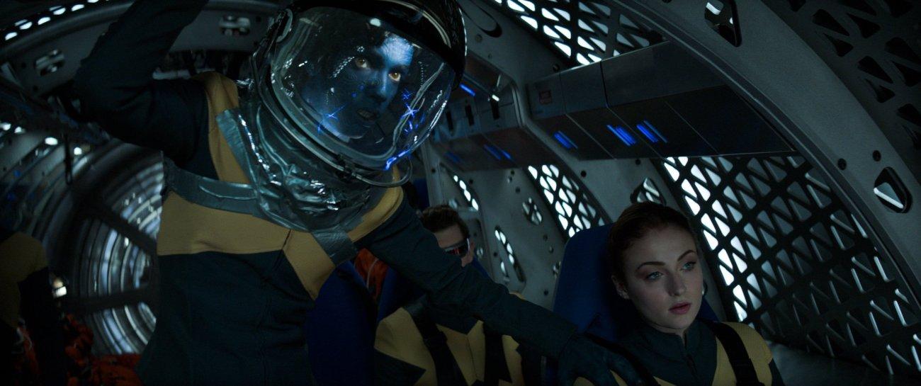 Una misión espacial en Dark Phoenix (2019). Imagen: Empire Magazine (@empiremagazine).
