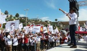 Inicia campaña Armando Ayala y visita El Sauzal