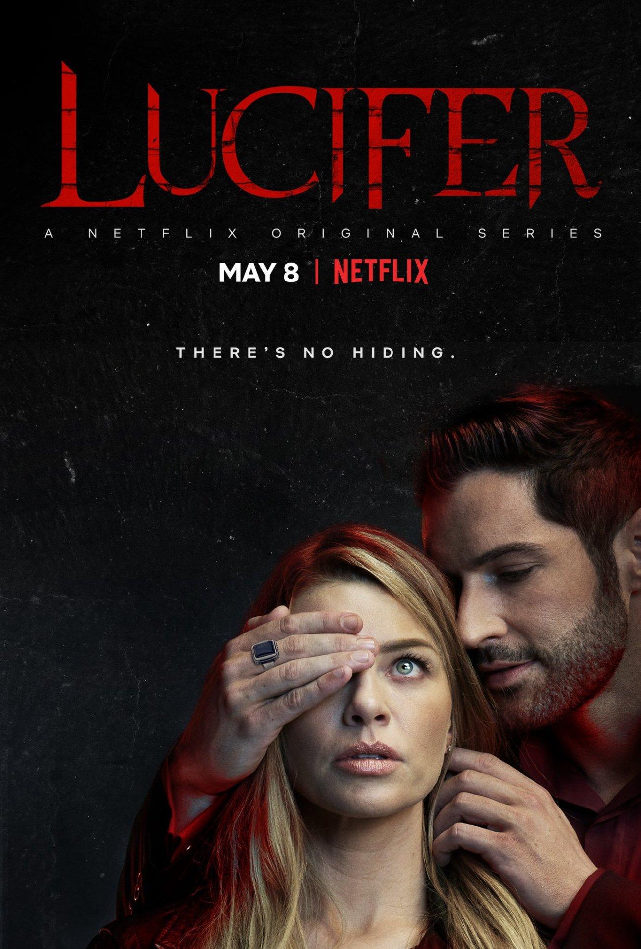 Póster de la temporada 4 de Lucifer. Imagen: Lucifer Twitter (@LuciferNetflix).