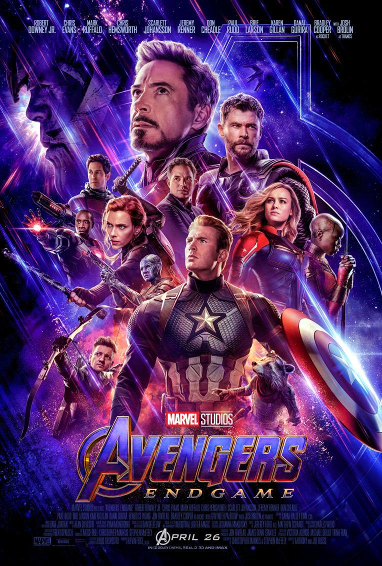 Póster de Avengers: Endgame (2019). Imagen: Marvel.com
