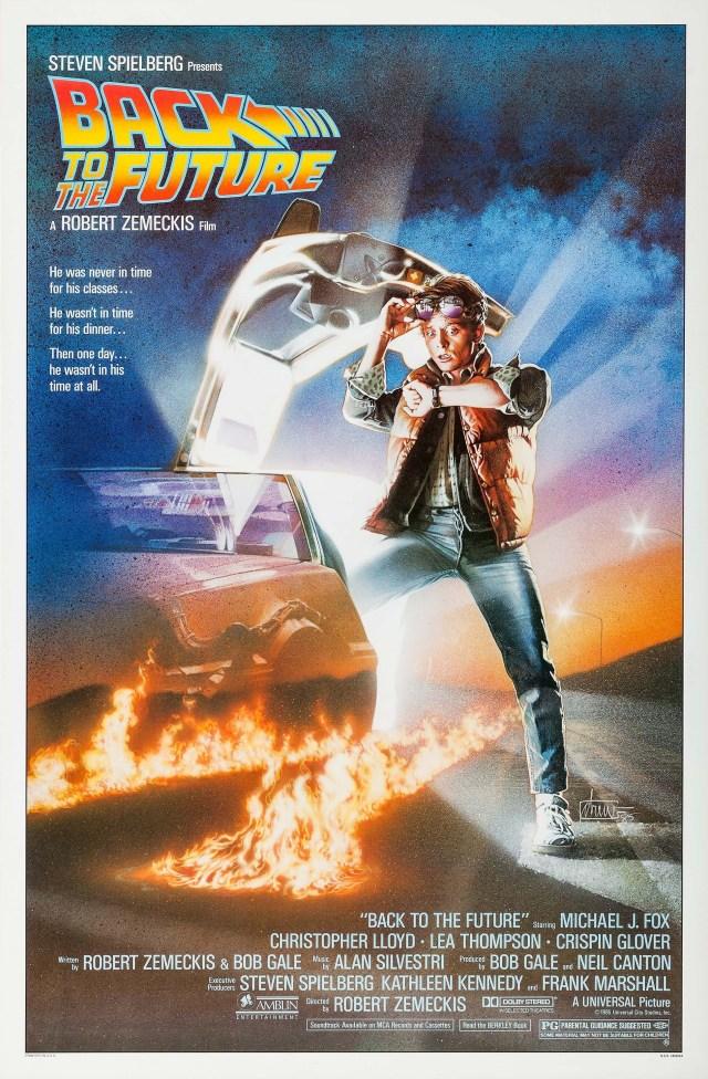 Póster de Back to the Future (1985). Imagen: impawards.com