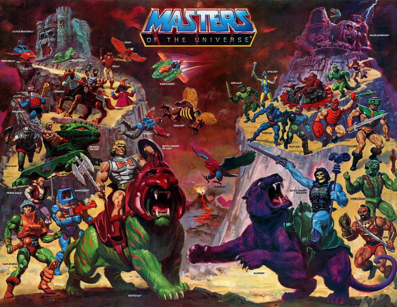 Se ha rumorado que Masters of Universe fue inspirada en Conan the Barbarian. Imagen: Archivo.