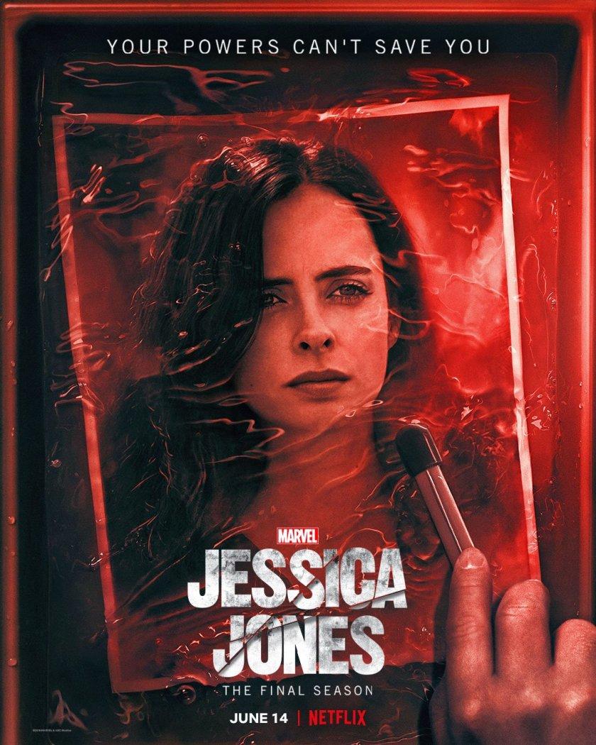 Póster de la temporada 3 de Jessica Jones. Imagen: Jessica Jones Twitter (@JessicaJones).