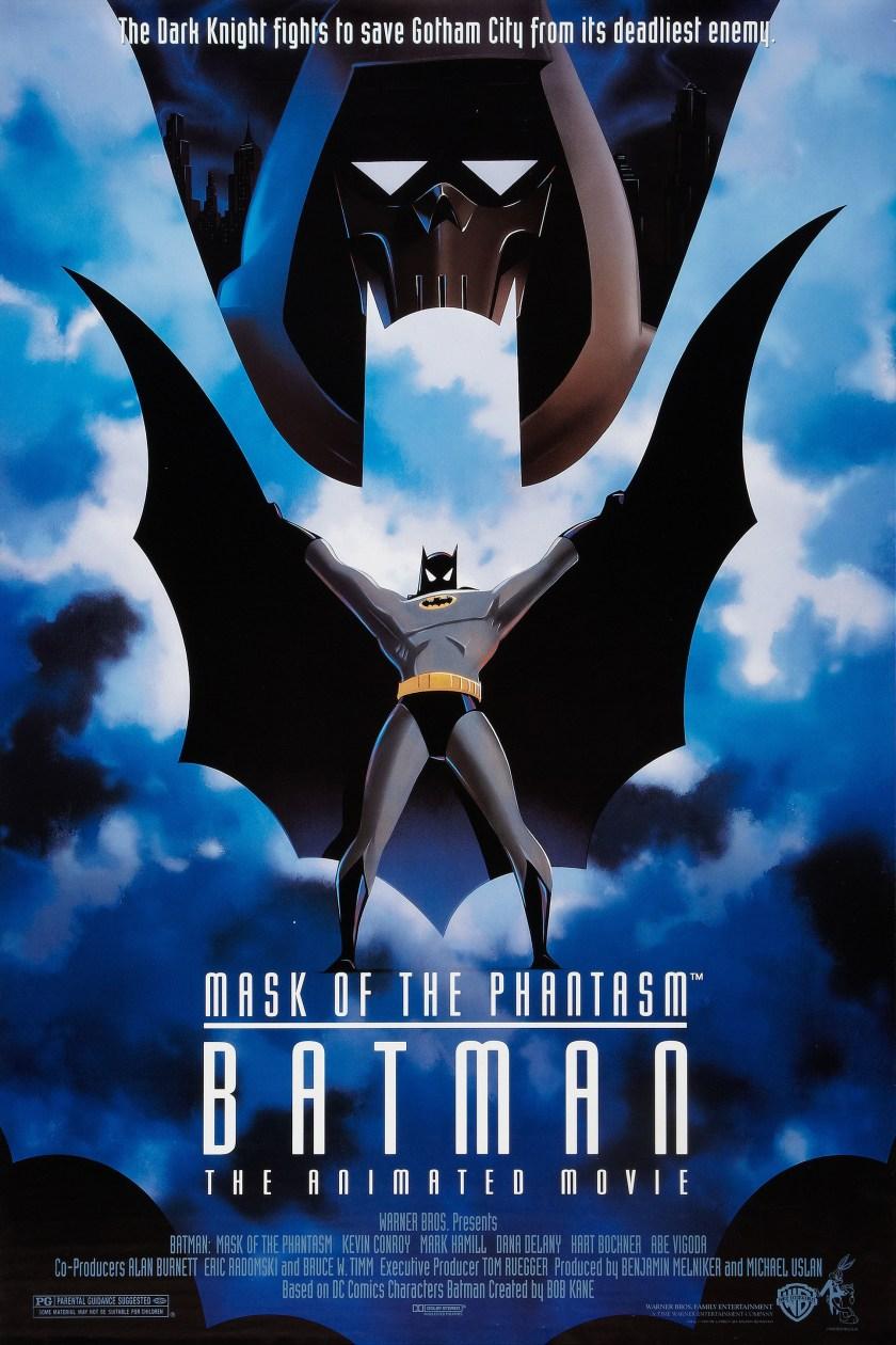 Póster de Batman: Mask of the Phantasm (1993). Imagen: impawards.com