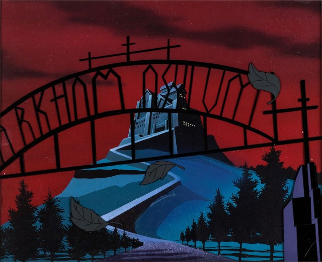 Arkham Asylum en The New Batman Adventures (1997). Imagen: Heritage Auctions