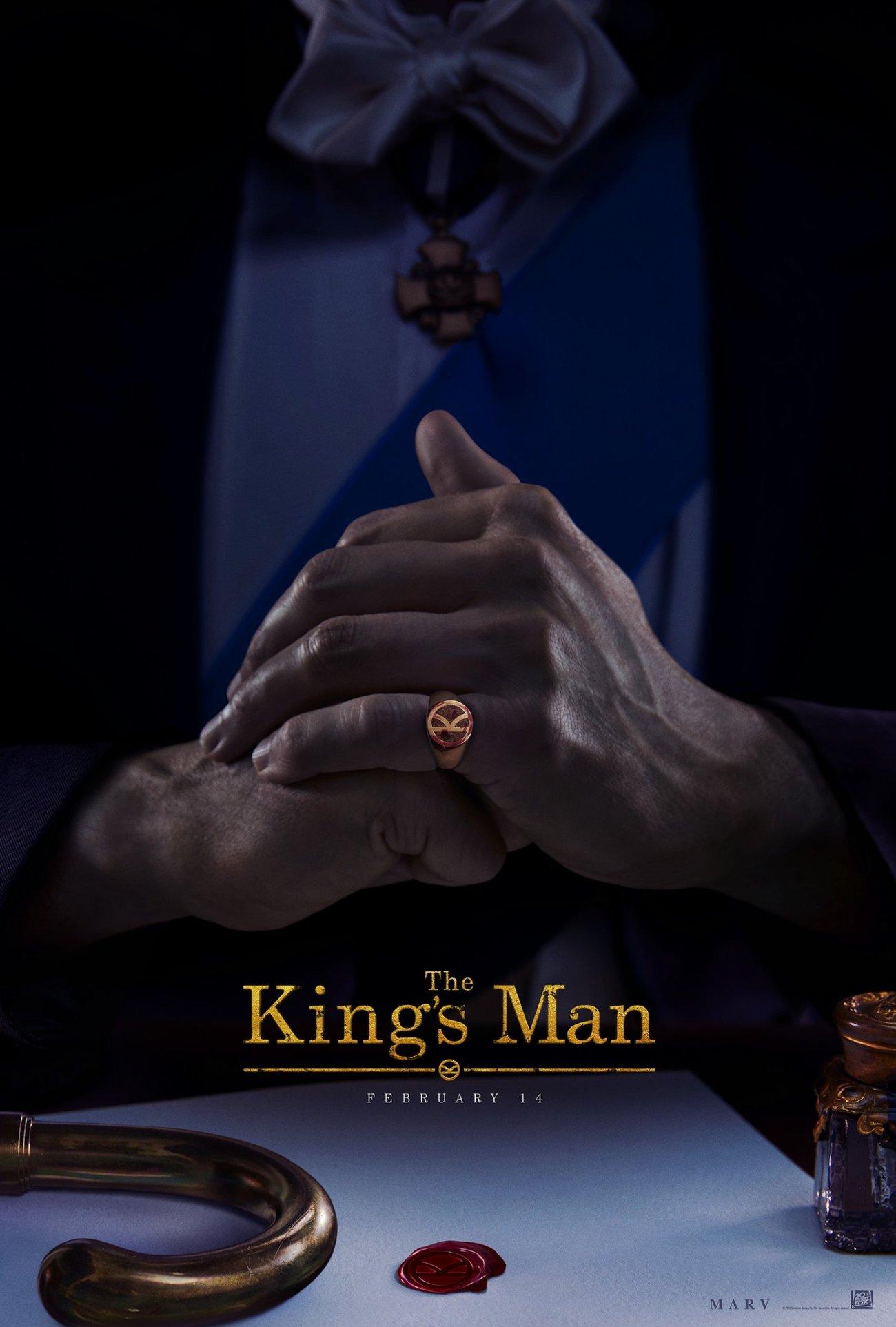 Póster de The King's Man (2020). Imagen: The King's Man Twitter (@KingsmanMovie).