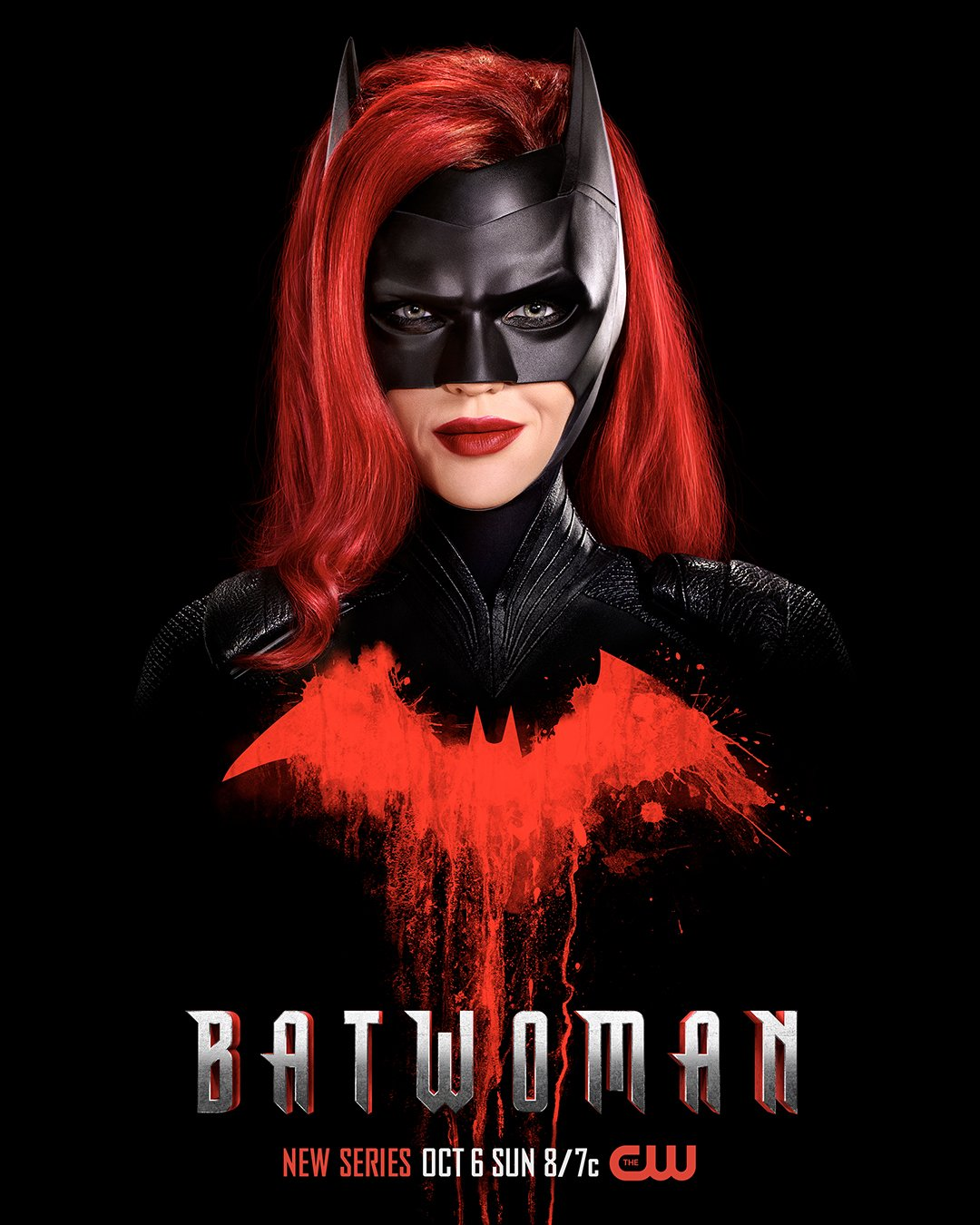 Póster de Batwoman en The CW. Imagen: Batwoman Twitter (@CWBatwoman).