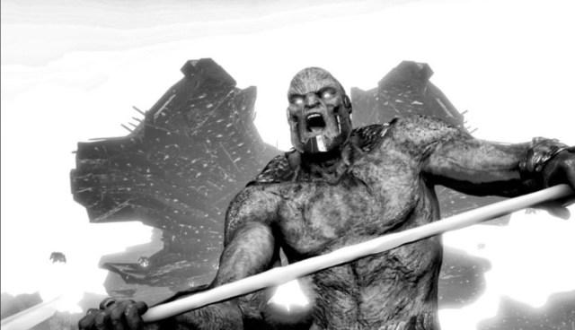 Darkseid/Uxas en arte conceptual de Justice League (2017). Imagen: dcextendeduniverse.fandom.com
