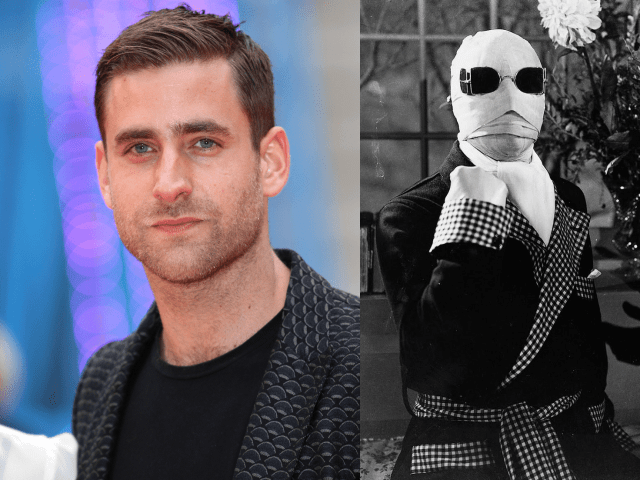 Oliver Jackson-Cohen estará en la nueva versión de The Invisible Man (2020). Claude Rains estuvo en la clásica The Invisible Man (1933). Imagen: TV Guide/pinterest.com