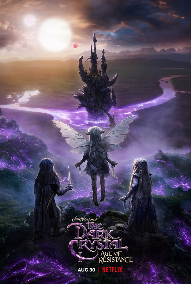 Póster de The Dark Crystal: Age of Resistance. Imagen: impawards.com