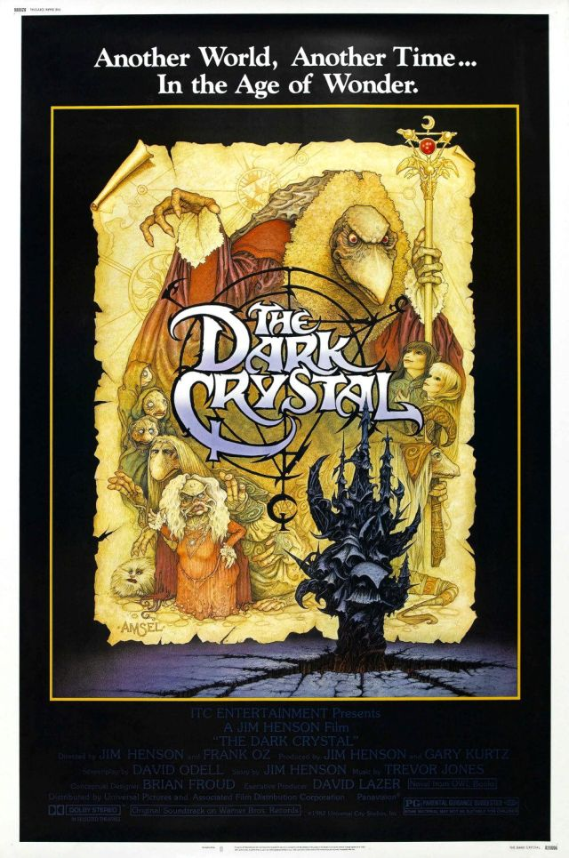 Póster de The Dark Crystal (1982). Imagen: impawards.com