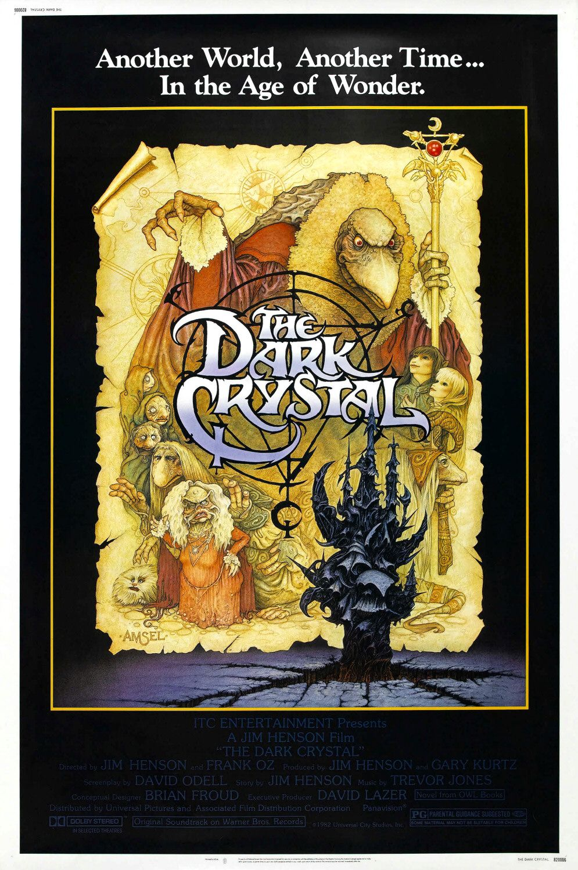 Póster de The Dark Crystal (1982). Imagen: impawards.com
