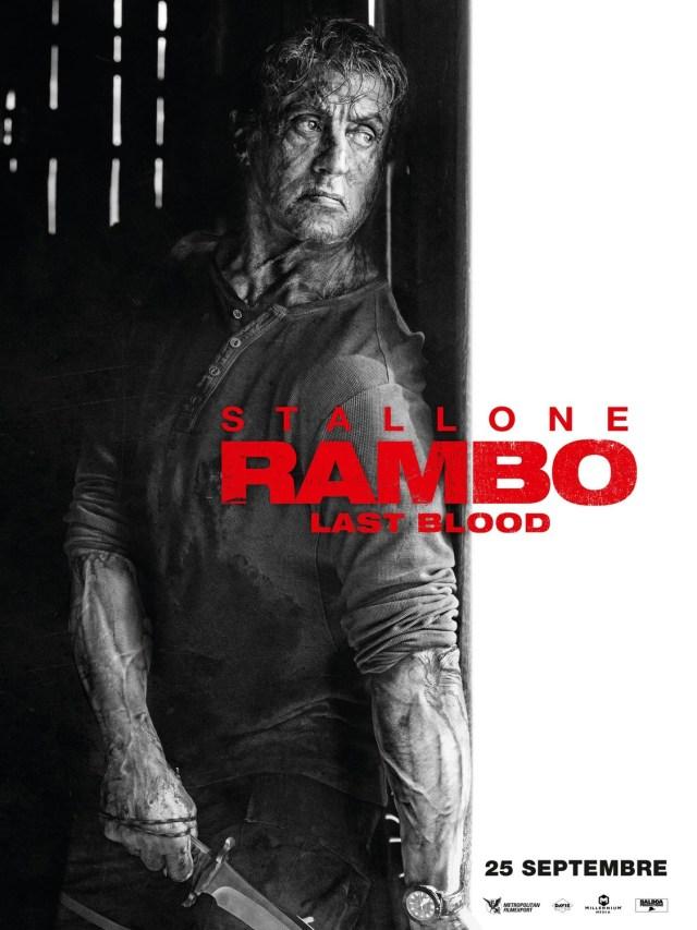 Póster de Rambo: Last Blood (2019). Imagen: impawards.com
