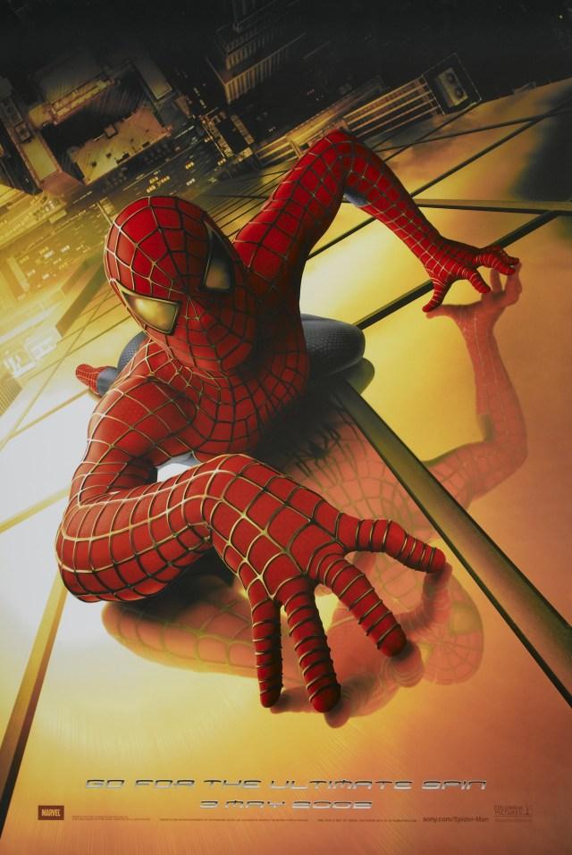 Póster de Spider-Man (2002). Imagen: impawards.com