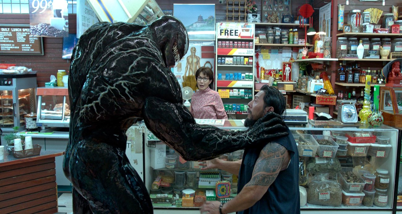 Venom (Tom Hardy) es el Protector Letal. Imagen: Columbia Pictures