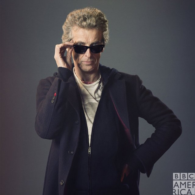El 12º. Doctor (2013-2017), interpretado por Peter Capaldi en Doctor Who. Imagen: Doctor Who on BBC America Twitter (@DoctorWho_BBCA).
