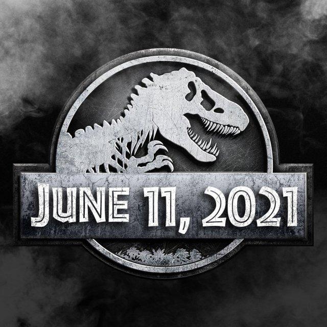 La fecha de estreno de Jurassic World 3 (2021). Imagen: Jurassic World Twitter (@JurassicWorld).