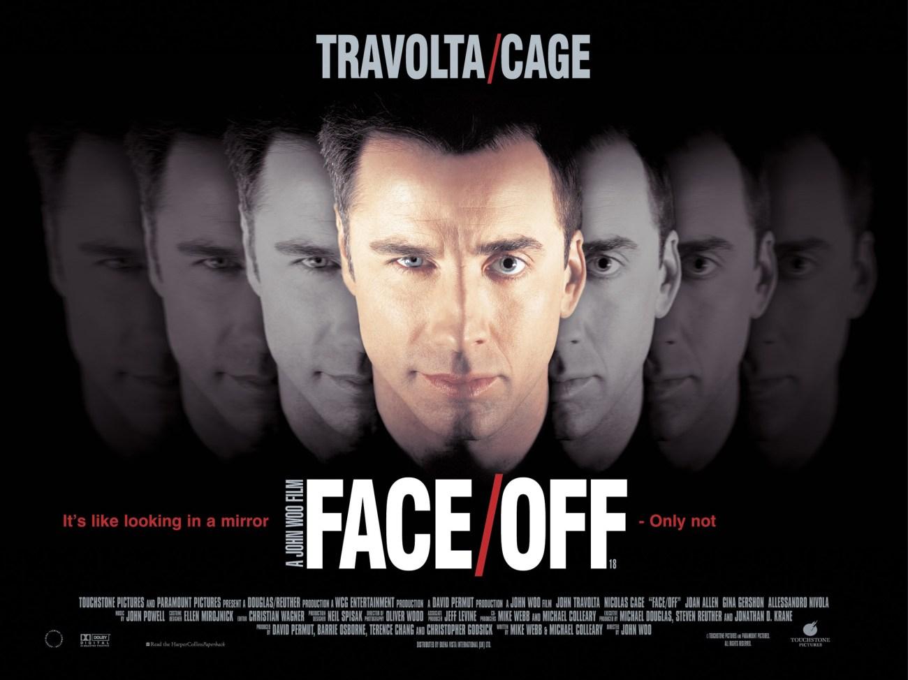 Póster de Face/Off (1997). Imagen: impawards.com