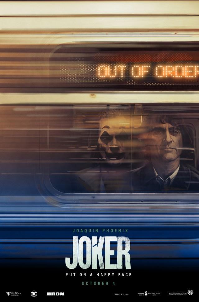 Póster de Joker (2019) por Rich Davies. Imagen: Collider.com