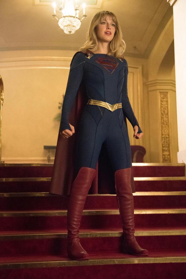 Supergirl (Melissa Benoist) en Event Horizon, el episodio 501 de Supergirl. Imagen: SpoilerTV/Dean Buscher/The CW