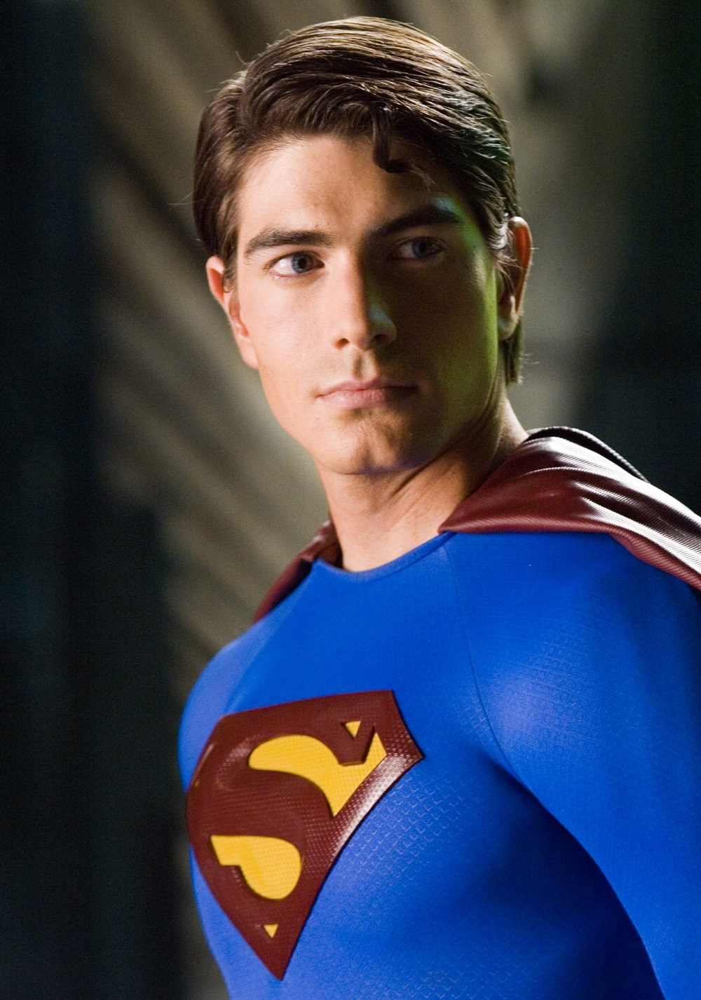 Brandon Routh como Superman en Superman Returns (2006). Imagen: fanart.tv