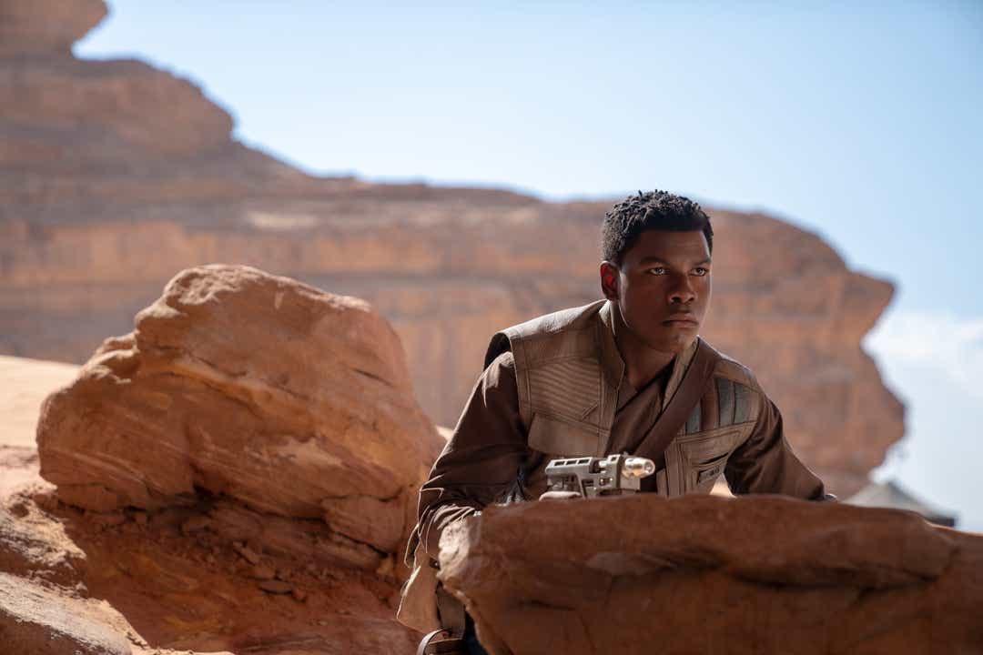 Finn (John Boyega) en Star Wars: The Rise of Skywalker (2019). Imagen: John Boyega Twitter (@JohnBoyega).