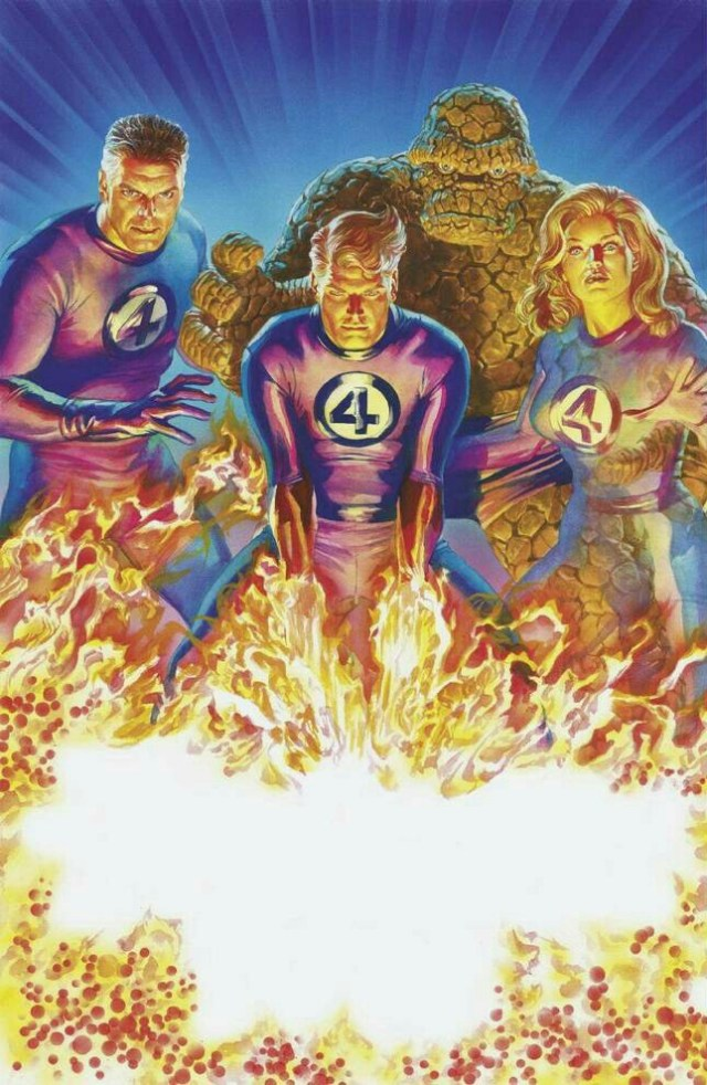 Los Fantastic Four por el artista Alex Ross. Imagen: marvel.fandom.com
