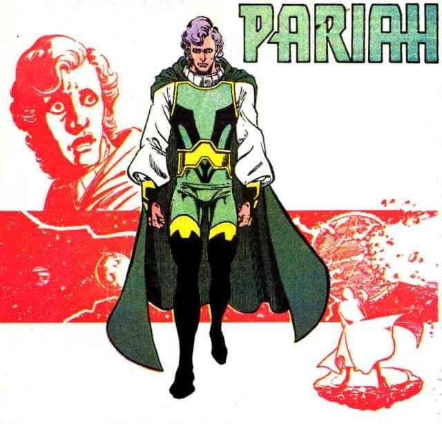 Pariah por el artista George Pérez. Imagen: dc.fandom.com