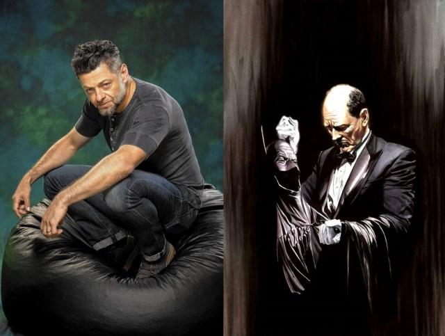 Alfred Pennyworth ha sido una figura paternal de Bruce Wayne y Andy Serkis será Alfred en The Batman (2021). Imagen: pinterest.com/dc.fandom.com