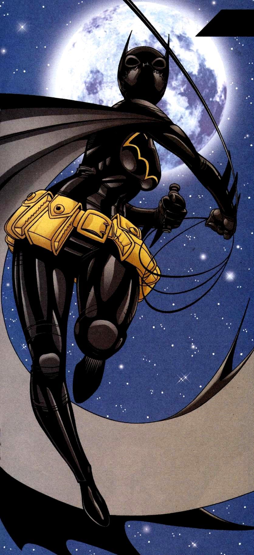 Cassandra Cain como Batgirl. Aparentemente era incapaz de hablar. Imagen: dc.fandom.com