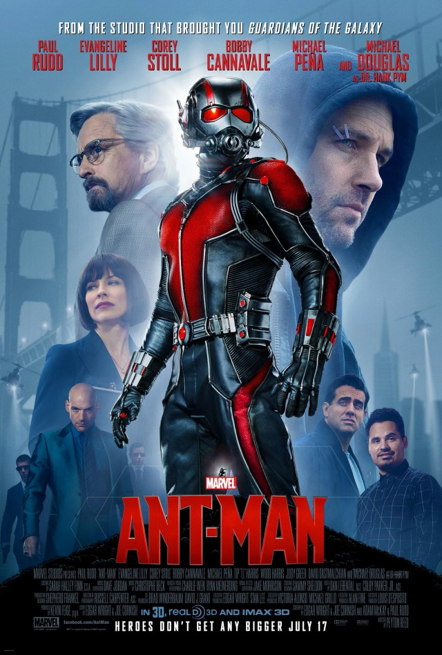 Póster de Ant-Man (2015). Imagen: impawards.com