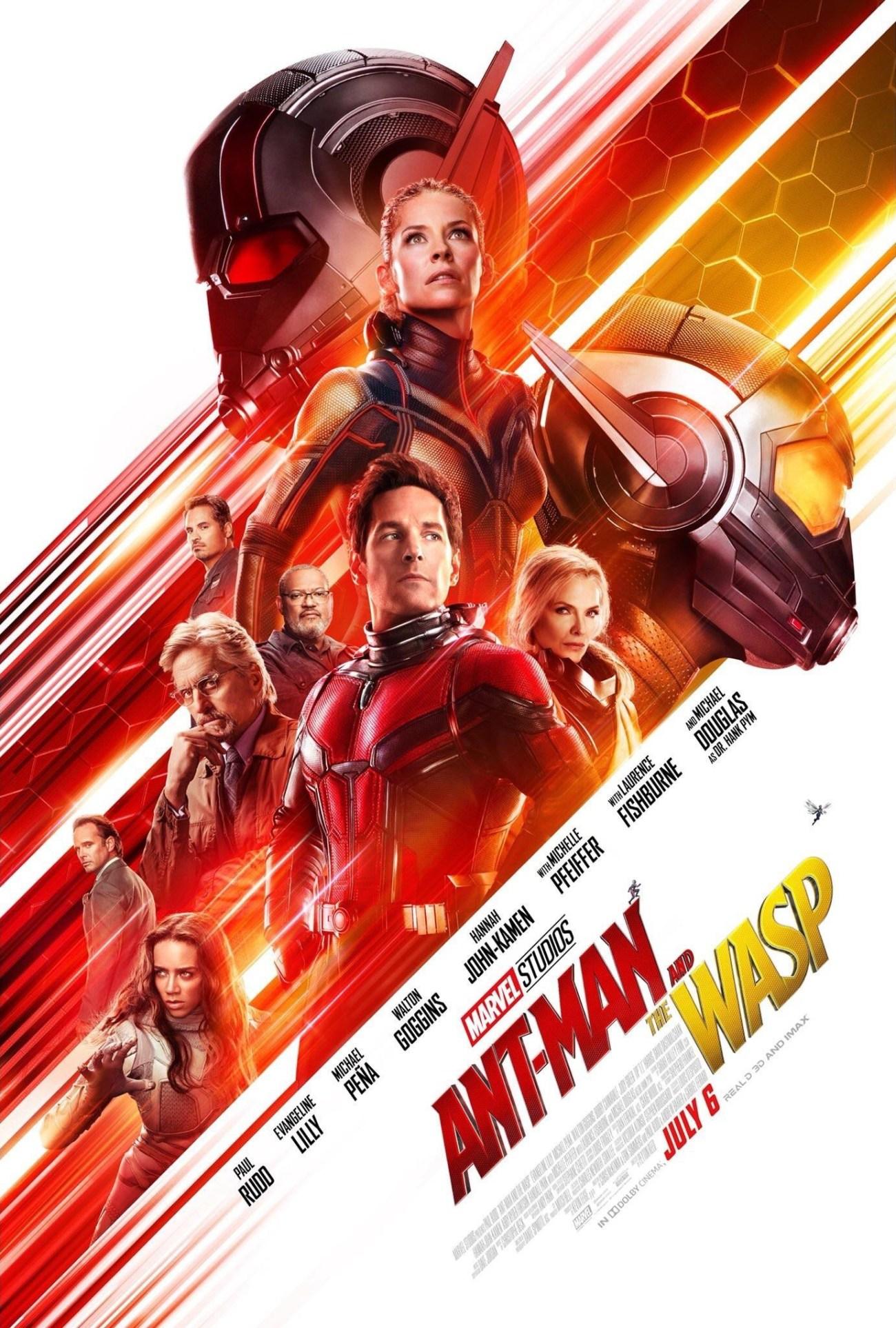 Póster de Ant-Man and the Wasp (2018). Imagen: impawards.com