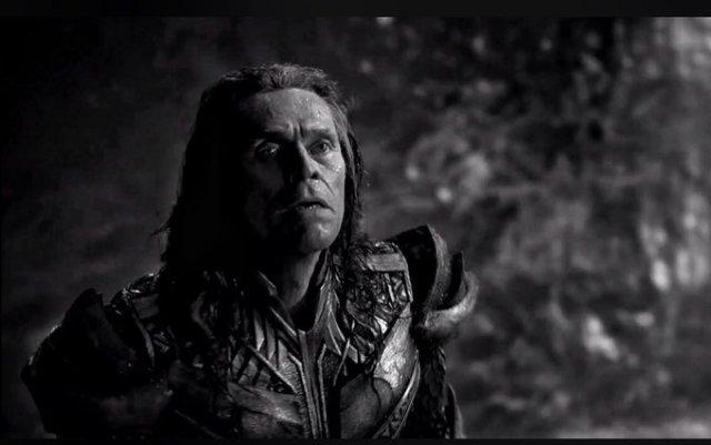Willem Dafoe como Nuidis Vulko en el Snyder Cut de Justice League (2017). Imagen: DC_Cinematic Reddit