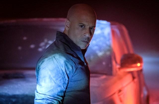 Vin Diesel como Ray Garrison en Bloodshot (2020). Imagen: IMDb.com