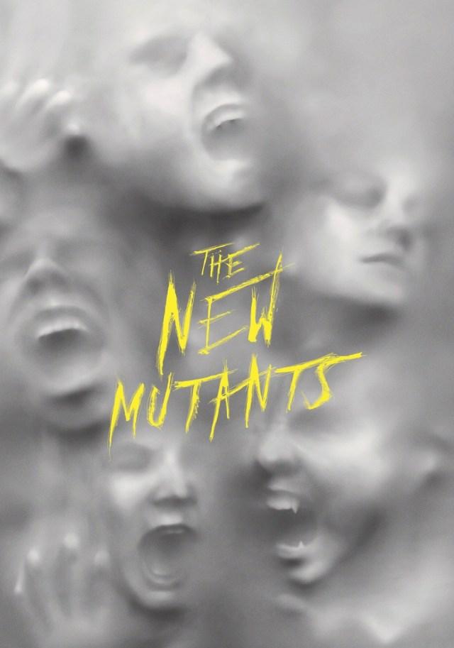 Póster de The New Mutants (2020). Imagen: fanart.tv