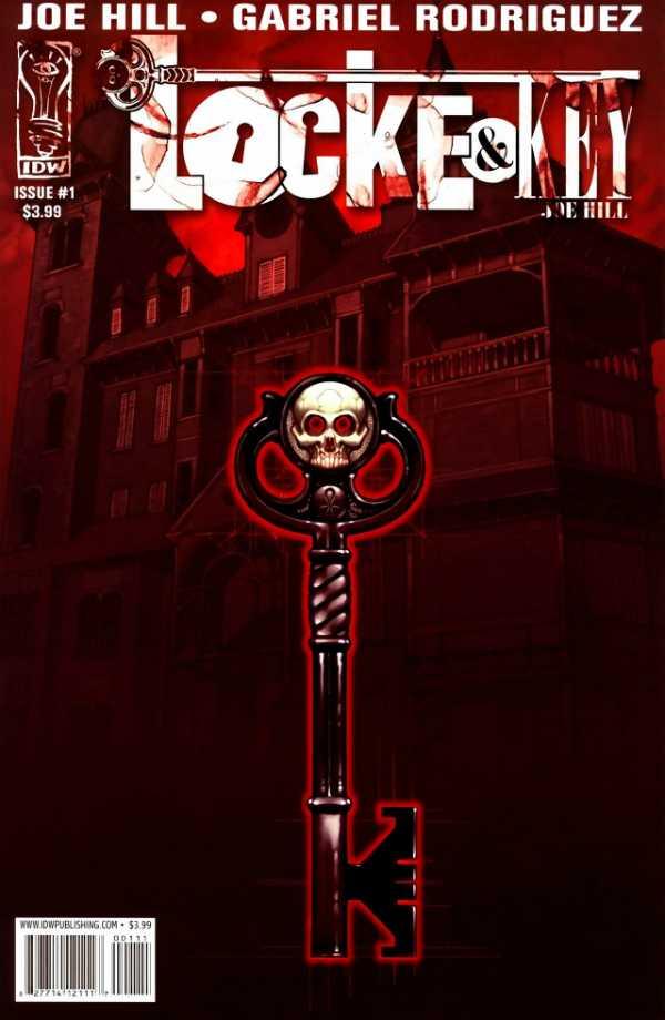 Portada de Locke & Key #1 (febrero de 2008). Imagen: Comic Vine