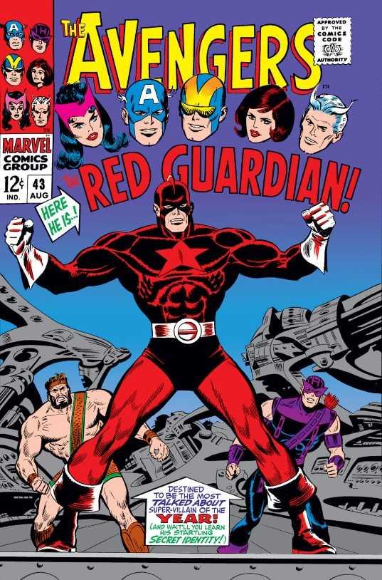 Portada de The Avengers #43 (agosto de 1967). Imagen: Comic Vine