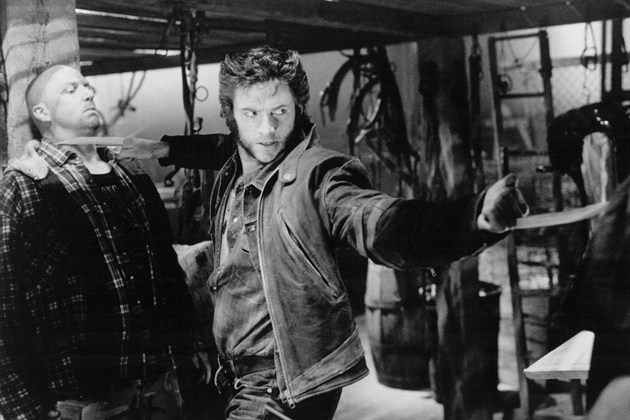 Hugh Jackman como Wolverine/Logan en X-Men (2000). Imagen: 20th Century Fox