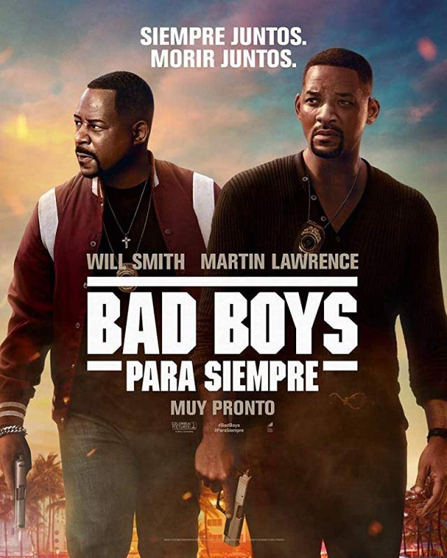 Póster mexicano de Bad Boys for Life (2020). Imagen: IMDb.com