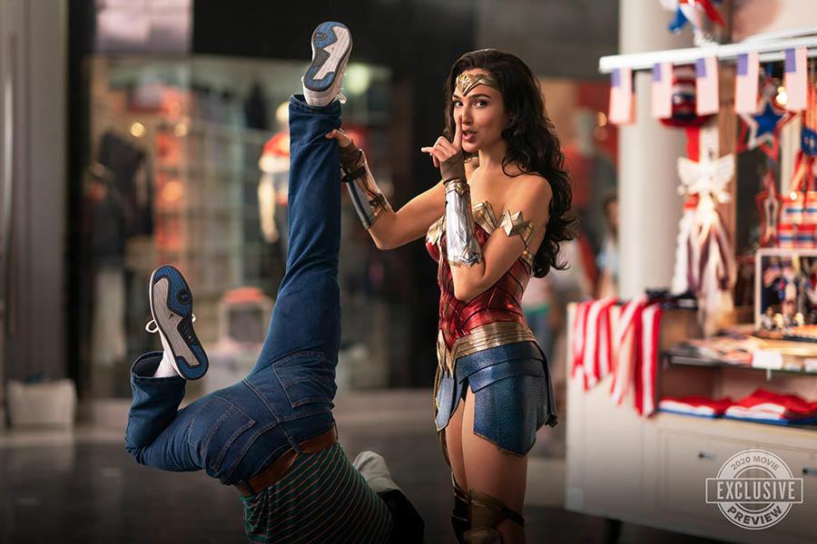 Wonder Woman 1984 (2020) se filmó bajo el título de producción Magic Hour. Imagen: Fandango