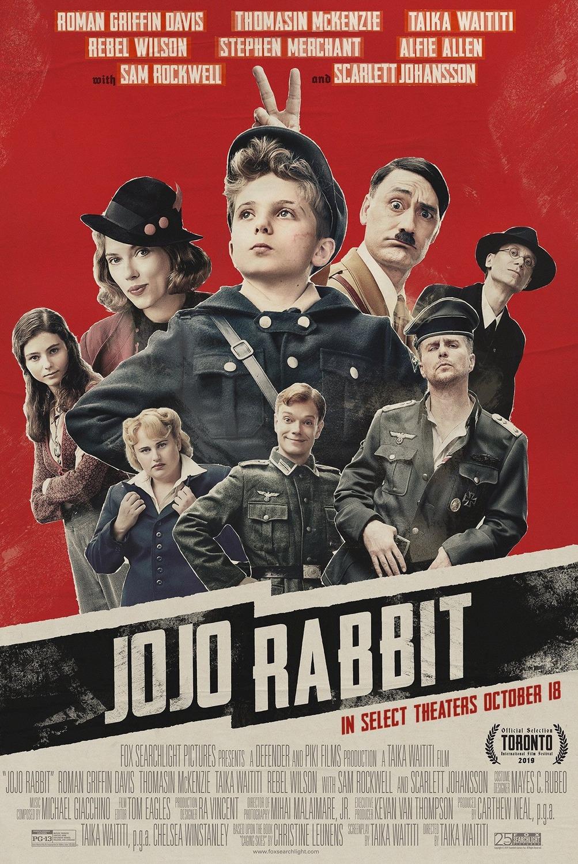 Póster de Jojo Rabbit (2019). Imagen: impawards.com