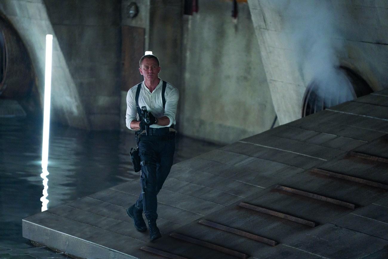 Daniel Craig como James Bond en No Time to Die (2020). Imagen: James Bond Twitter (@007).