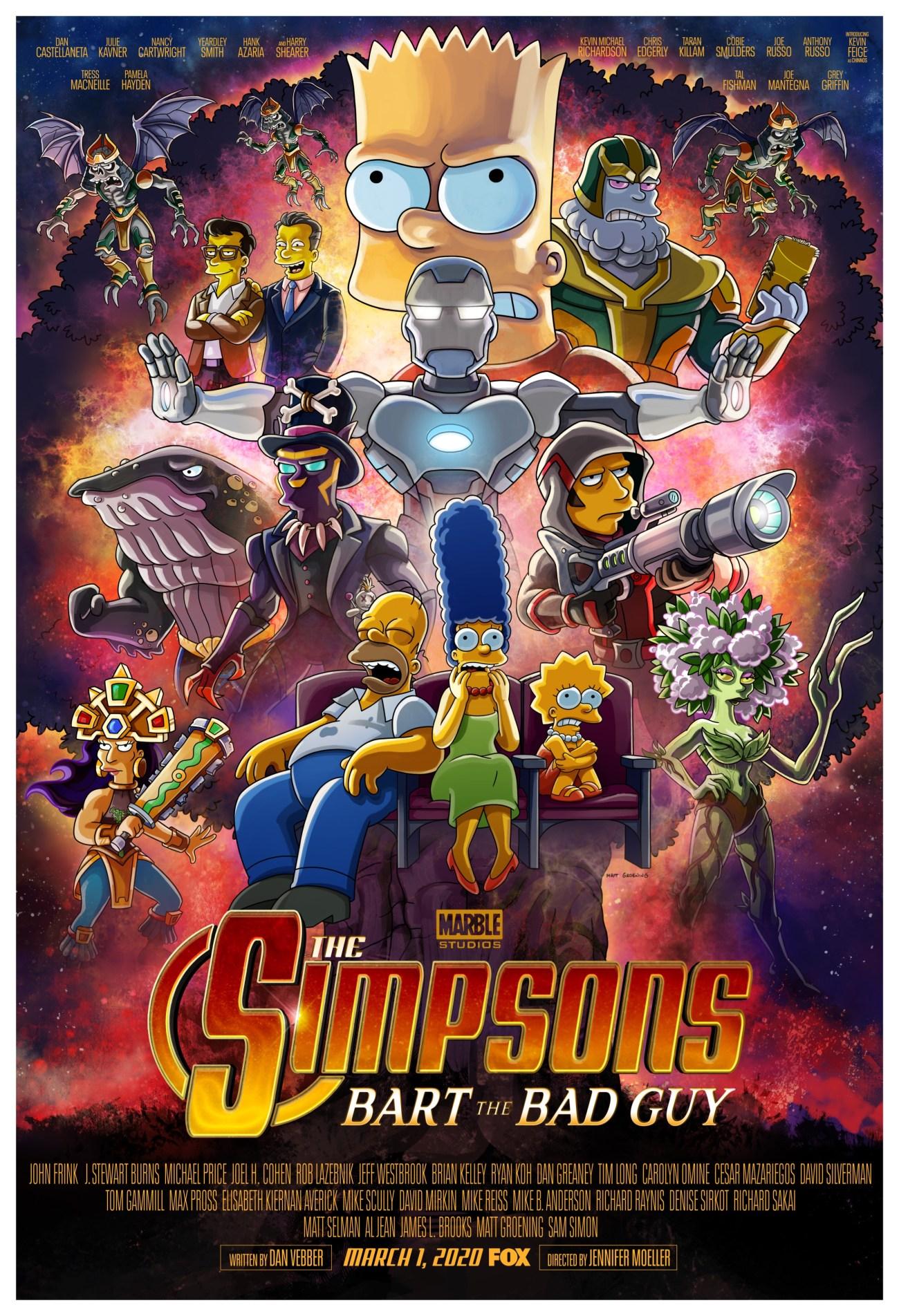 Póster del episodio Bart the Bart Guy de The Simpsons. Imagen: The Simpsons Twitter (@TheSimpsons).