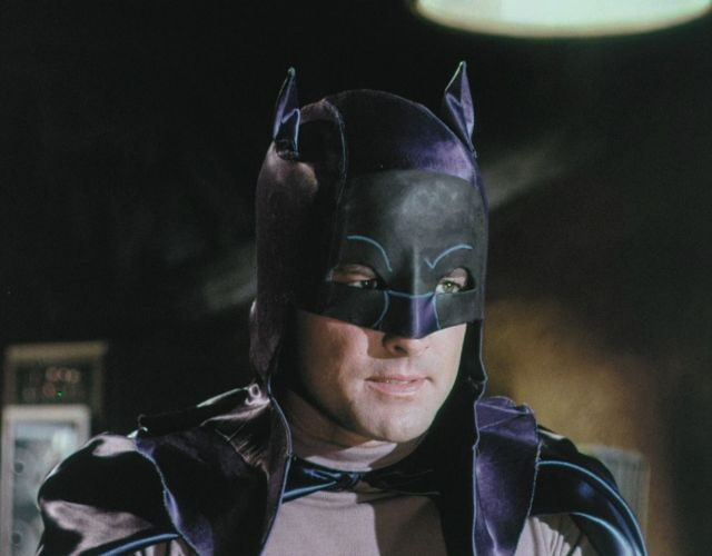 Lyle Waggoner (1935-2020) en la audición para Batman (1966-1968). Imagen: pinterest.com