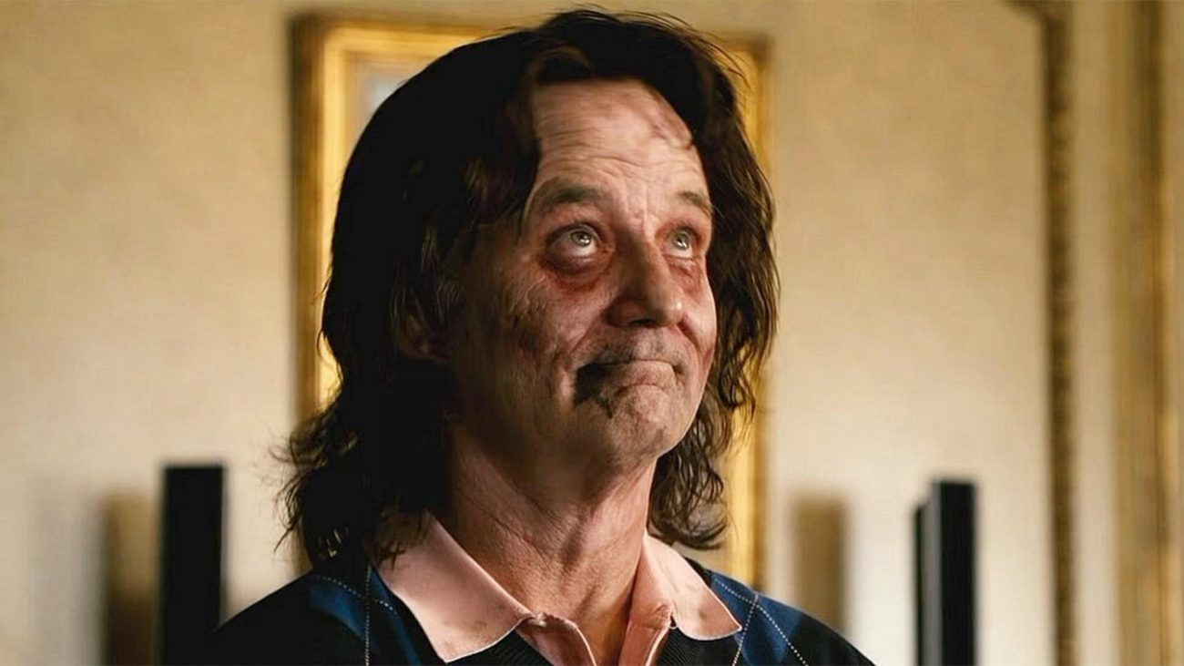 Bill Murray como él mismo en Zombieland (2009). Imagen: Columbia Pictures