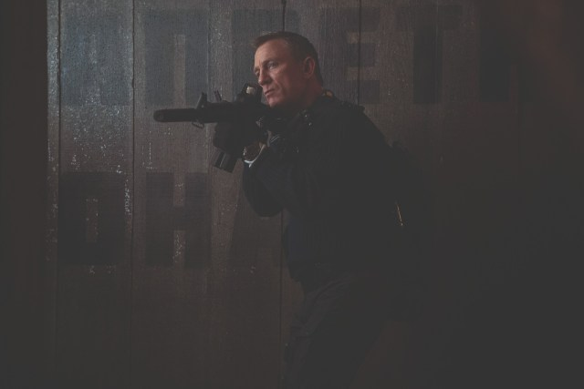 Daniel Craig como James Bond en No Time to Die (2020). Imagen: 007 Twitter (@007).