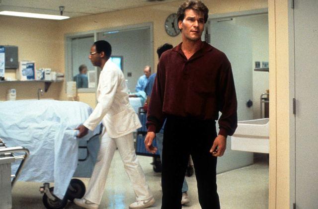 Patrick Swayze (1952-2009) como Sam Wheat en Ghost (1990). Imagen: Getty Images
