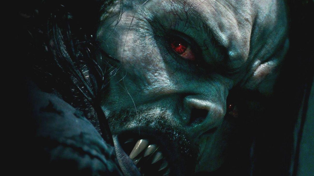 El Dr. Michael Morbius (Jared Leto) en Morbius (2021). Imagen: fanart.tv
